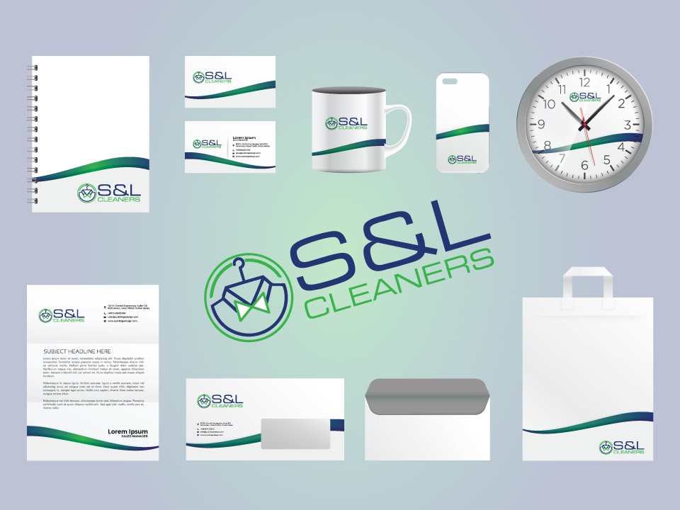 S&L Clearners Stationary