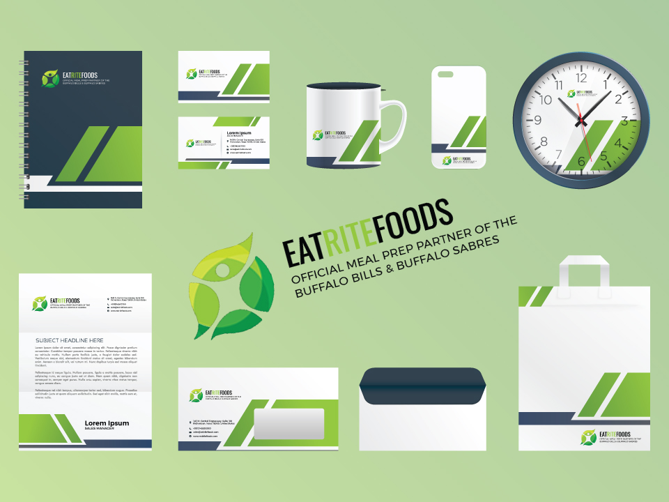 Eat Rite Foods Stationery