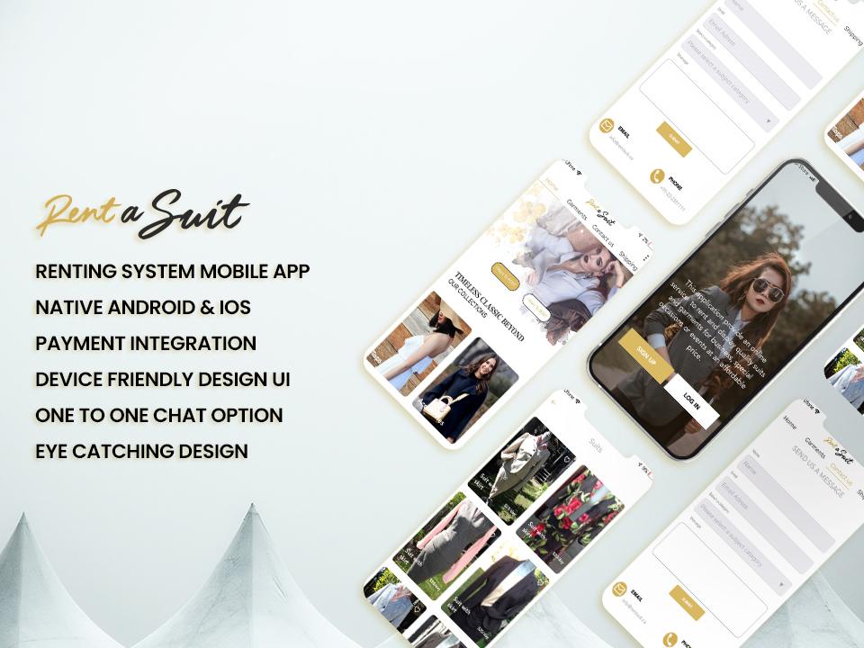 Rent a suit App